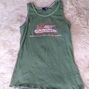 American Eagle Outfitters Main diner ribbed tank